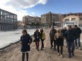 Las obras de mejora en los institutos Ibáñez Martín y Ros Giner de Lorca entran en la fase final
