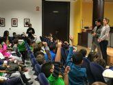 Alumnos del CEIP El Mirador visitaron el Ayuntamiento