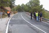 Fomento finaliza las obras de mejora de la carretera que une Alhama de Murcia con Pliego