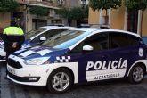 Detienen a un individuo como presunto autor de un delito de violencia de genero, en Alcantarilla