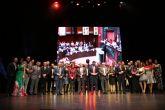 Fernando López Miras clausura el acto de entrega de los premios 'Antenas y Micrófonos de Plata 2017'