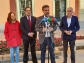 El PSOE denuncia la discriminación que sufre el municipio de Murcia por el pacto de la resignación del PP y Ciudadanos