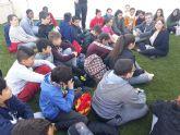 Alumnos de sexto de primaria visitan la EDAR de San Pedro del Pinatar para conocer el proceso de reutilización del agua