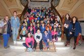 Slumnos de 2º y 3º de Primaria del Colegio Mariano Suárez han visitado el Ayuntamiento