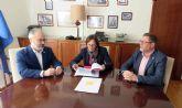 El Ayuntamiento de Caravaca recibe el apoyo de la Mancomunidad de Canales del Taibilla para el suministro de agua al polígono de Cavila