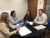 Las diputadas nacionales del PP, Isabel Borrego y Ascensión Carreño mantienen una reunión con la Asociación Unificada de Guardias Civiles