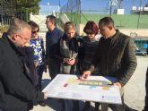 La Alcaldesa de Molina de Segura visita al alumnado del Programa Mixto de Empleo y Formación El Romeral 1