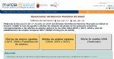 3.590 opositores se examinan mañana para optar a 137 plazas del Servicio Murciano de Salud