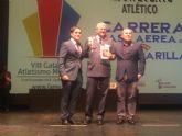 Éxito de los deportistas y clubes de Alcantarilla en la VIII Gala del Atletismo FAMU