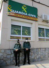 La Guardia Civil investiga a tres personas por simular ser víctimas de robos