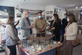 La consejera de Educación y Cultura visita el Museo del Mar de San Pedro del Pinatar con motivo de su 40 aniversario