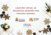 I Muestra virtual de decoración navideña para personas mayores