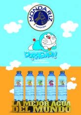 Aguas de Mondariz se viste con la imagen de Doraemon, la mítica serie de dibujos animados que celebra este año su 50 aniversario