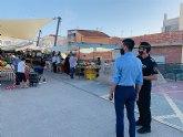 Abierto el plazo para solicitar autorización de venta en los mercados semanales de Alguazas