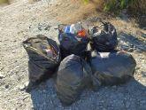 Actividades medioambientales en La Aljorra, Cartagena, por el día del árbol autóctono