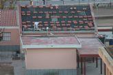 En marcha las obras de la techumbre del edificio de Infantil del Colegio Príncipe Felipe