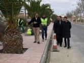 Fomento mejora la regulación del tráfico en la intersección del barrio de Vistalegre en Ceutí