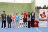 Jesús García y Alba Rey, campeones regionales absolutos de tenis