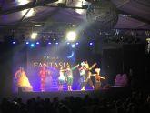 Los niños pinatarenses cantan, ríen y bailan con 'El Mundo de Fantasía'