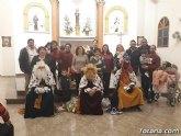 Lébor celebró una misa de Navidad