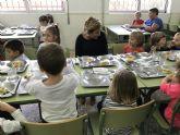 La Comunidad pone en marcha este curso 11 nuevos comedores escolares que darán servicio a más de 15.000 alumnos
