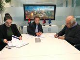 Firma de convenio de colaboración entre el Ayuntamiento de Torre Pacheco y la Fundación 'Dar de Sí'