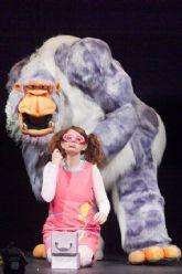 Galitoon representa el espectáculo de títeres y actores GOLULÁ el jueves 2 de enero en el Teatro Villa de Molina
