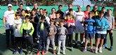 Más de 140 alumnos en el campus de invierno de la escuela yecla club de tenis.