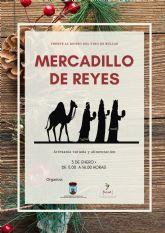 El próximo domingo se celebra el Mercadillo de Reyes