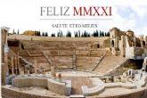 El Teatro Romano de Cartagena continúa su actividad con 'Feliz Navidad, Bona Saturnalia'