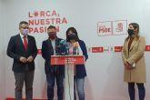 El PSOE incluye 16 millones de euros para la construcción del Palacio de Justicia en Lorca y un convenio de 3 millones de euros para políticas de renovación urbana y vivienda en los Presupuestos Generales del Estado para 2021
