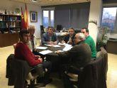 Reunión entre el director general del Agua y el equipo de gobierno del Ayuntamiento de Moratalla