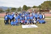 Brillante actuaci�n del Club Atletismo Alhama en la liga de clubes de menores
