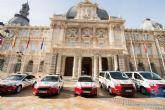 Cartagena cuenta con cinco nuevos vehiculos de Policia Local