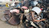 La Guardia Civil desmantela un grupo delictivo dedicado a la sustracción de material metálico