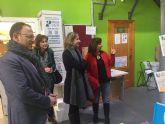 La Alcaldesa de Molina de Segura visita las instalaciones de Labor Viva, gestionada por FEYCSA, Centro Especial de Empleo Adaptado a Personas con Discapacidad