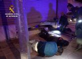 La Guardia Civil sorprende a cuatro personas mientras robaban en un bar de Torre Pacheco