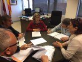 La Alcaldesa de Molina de Segura se reúne con el Director General del Agua para tratar los problemas de saneamiento del municipio