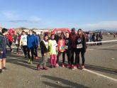 50 escolares de Torre-Pacheco participan en la Final Regional Campo a través, en Puerto Lumbreras