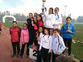 El Club Atletismo Alhama presente en la Quinta Jornada de Cross FAMU