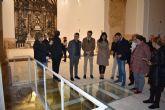 El Alcalde y la Consejera de Cultura visitan las obras de rehabilitación de la iglesia de San Pedro en la que se han invertido más de 550.000 euros