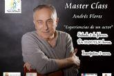 El actor ilicitano Andrés Flores impartirá la master class ´Experiencias dentro de un actor´ dentro del programa T-La