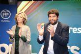 López Miras: 'El PP es el único partido que garantiza los recursos hídricos para dar certidumbre a nuestros agricultores'