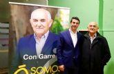 """Garre: """"Juan Miguel Molina, es la mejor opción para la alcaldía de Abarán"""""""