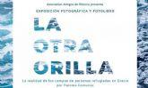 La biblioteca del Luzzy acoge la presentación del fotolibro 'La Otra Orilla', que muestra la realidad de los refugiados en Grecia