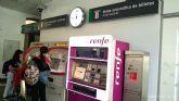 Jiménez anuncia la puesta en marcha de la Estación de Murcia del Carmen tras concluir ADIF las obras de remodelación