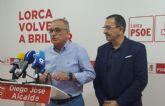 El PSOE pide a los populares lorquinos que tomen ejemplo de sus compañeros de Murcia y no se dejen llevar por los postulados de la ultraderecha