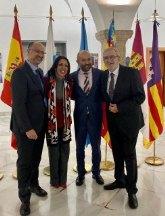 Alberto Castillo y el presidente de las Cortes de Castilla León, Luis Fuentes, formarán parte de la COPREPA
