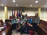 Los alumnos de 3° de Primaria del colegio Virgen de los Dolores visitan el Ayuntamiento