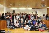 El alcalde recibe a los 53 participantes en el intercambio cultural y pedagógico